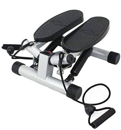 amazon com sunny health \u0026 fitness mini stepper stair stepperamazon com sunny health \u0026 fitness mini stepper stair stepper exercise equipment with resistance bands and twisting action no 068 sports \u0026 outdoors