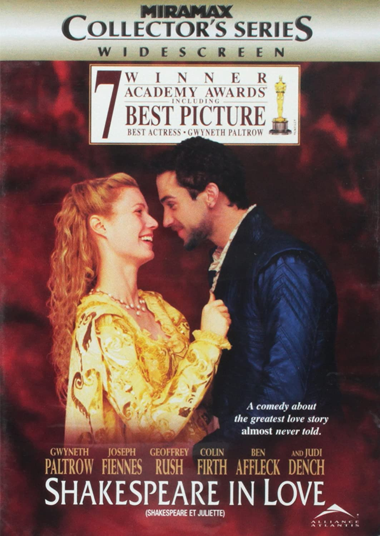 Shakespeare in Love (Widescreen) (Collector's Series) (Bilingual) Gwyneth Paltrow Joseph Fiennes Geoffrey Rush Tom Wilkinson