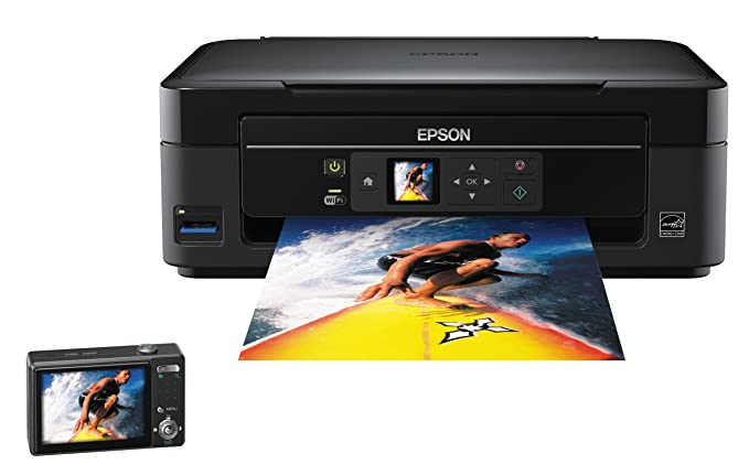 Epson Stylus Sx435W All-In-One Printer with High Speed Wifi (Print, Copy,  Screen and Scan)