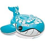 Intex 57527NP, Reittier Badetier Schwimmtier oder Badeinsel lachender Waal für Kinder ab 3 Jahre mit zwei Haltegriffe ca. 160 x 152 cm