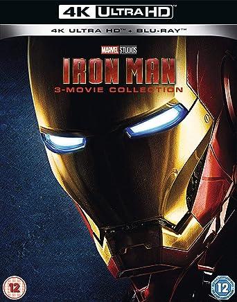Iron Man 4k Uhd Trilogy Blu Ray 2019 Region Free Amazonco
