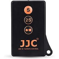 JJC Wireless Remote Control with Extra Start/Stop Video Button for Sony A6000 A6300 A6400 A6500 A6600 A7III A7II A7…