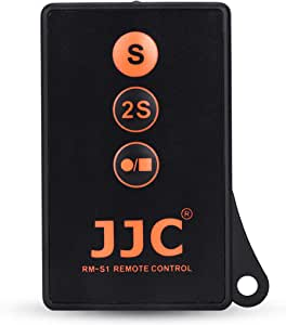 JJC Wireless Remote Control with Extra Start/Stop Video Button for Sony A6000 A6300 A6400 A6500 A6600 A7III A7II A7 A7SIII A7SII A7S A7RIV A7RIII A7RII A7R A9 A9II NEX-6 NEX-7 A99II A99 & More