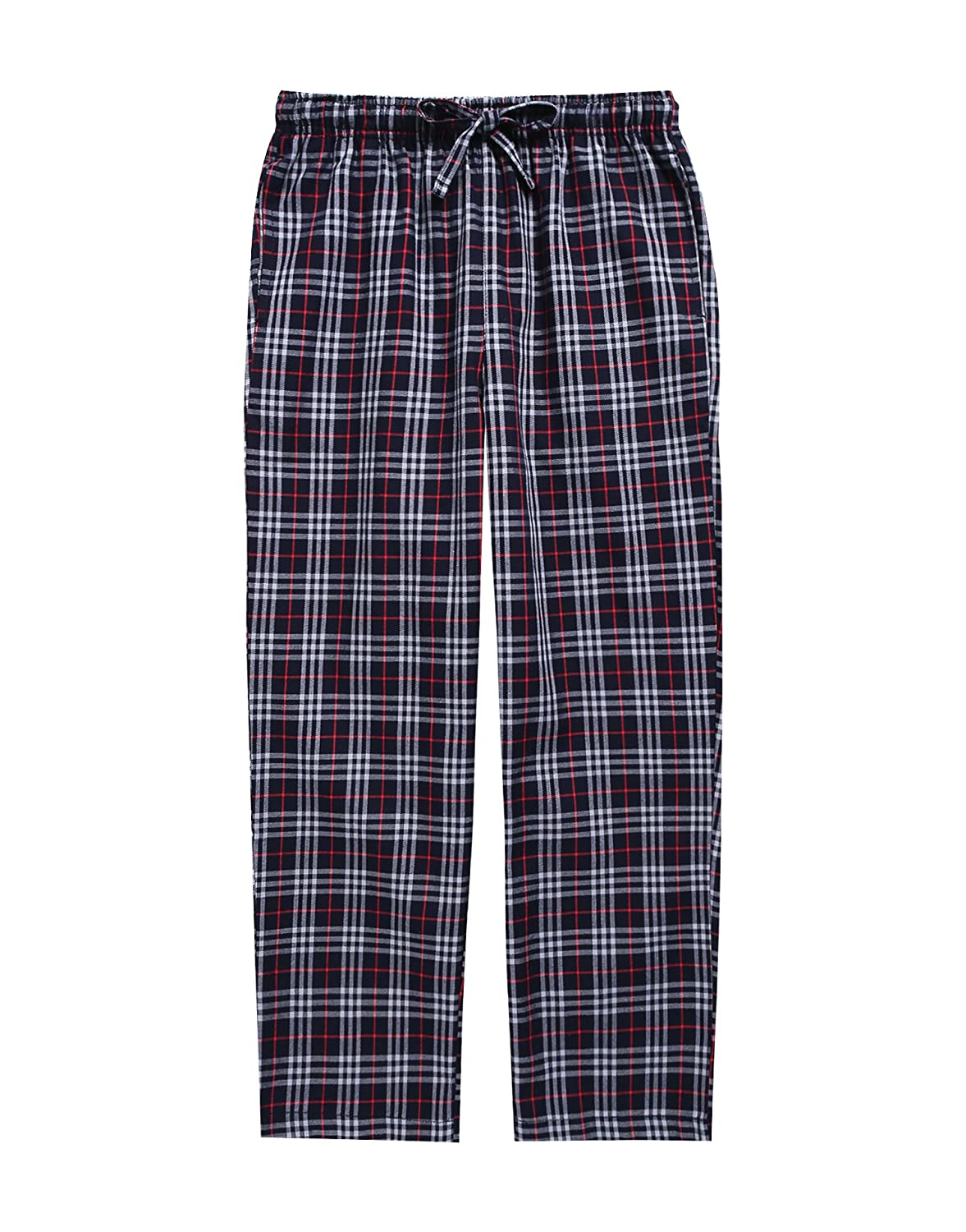 TINFL 6 14 Years Big Boys Plaid Check Soft Lightweight 100% Cotton Lounge Pants
