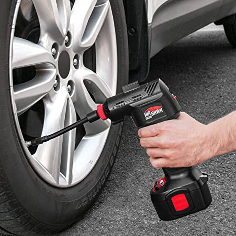 Amazon Com Ontel Air Hawk Pro Automatic Cordless Tire Inflator