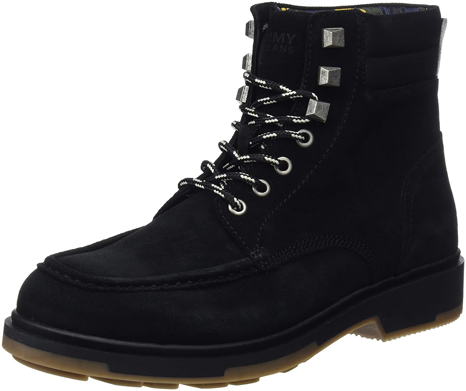 TALLA 41 EU. Tommy Jeans Casual Outdoor Lace Up Boot, Botas Militar para Hombre