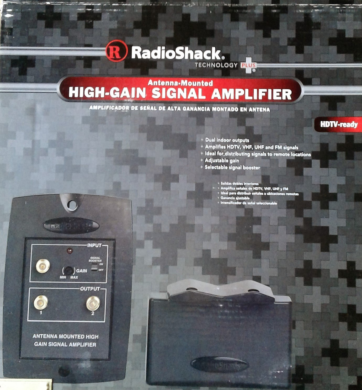 High Gain Signal Amplifier