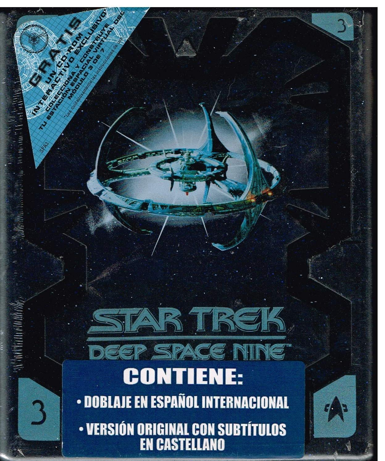 Pack Star Trek Deep Space Nine 3ª Temporada Espacio Profundo Nueve DVD: Amazon.es: Cine y Series TV