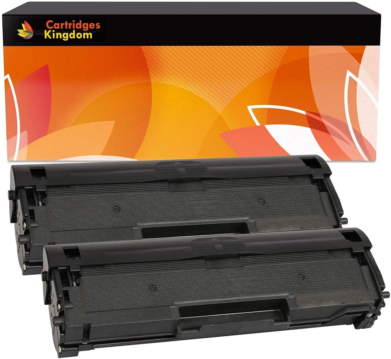 2 Cartuchos de tóner láser compatibles con Samsung MLT-D111S ...