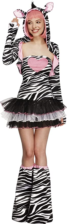 Smiffys - Disfraz de cebra para mujer, talla XS (22798XS): Fever ...