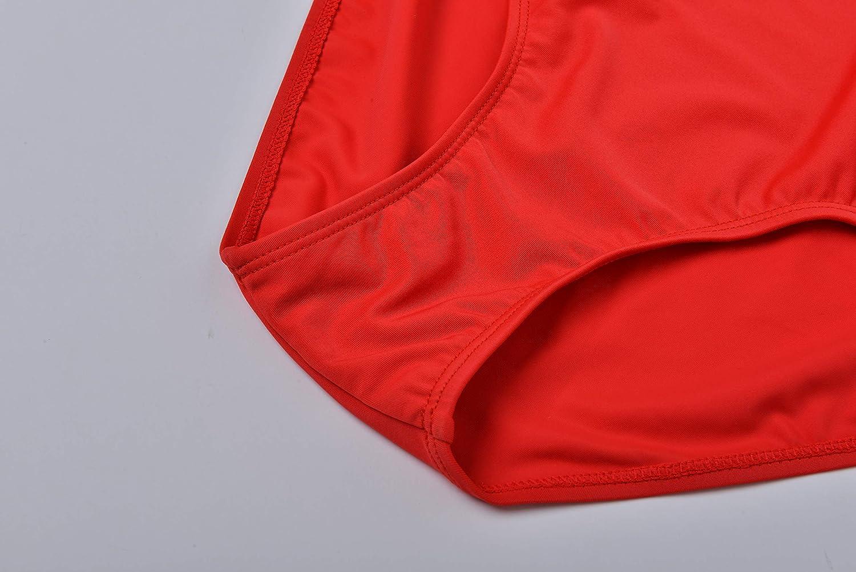Costume Da Bagno Intero Rosso : Eono essentials costume da bagno intero da donna taglia s