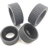 OKLILI PA03540-0001 PA03540-0002 Brake and Pick Pickup Roller Tire Kit for Fujitsu fi-6130 fi-6130Z fi-6140 fi-6140Z fi-6230 fi-6230Z fi-6125 fi-6225 IX500