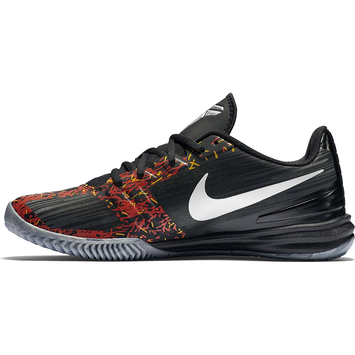 Nike Men\u0027s Kb Mentality Black, Chrome, Anthracite and Cool Grey Sport  Running Shoes -9 UK/India (44 EU)(10 US): Buy Online at Low Prices in India  - Amazon. ...