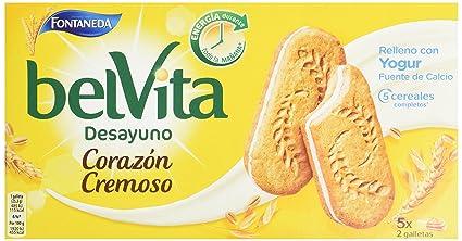 Fontaneda Belvita Galleta-Sandwich Yogur - 253 g: Amazon.es ...