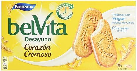 Fontaneda Belvita Galleta-Sandwich Yogur - 253 g