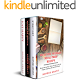 Healthy Weekly Meal Prep Recipes: 3 in 1: Recipes step by step. Gluten-free diet books, diet recipes, weight loss diet, nutritional book. (Plant Based Keto Cookbook, Foods Genius, Eat Happy.)