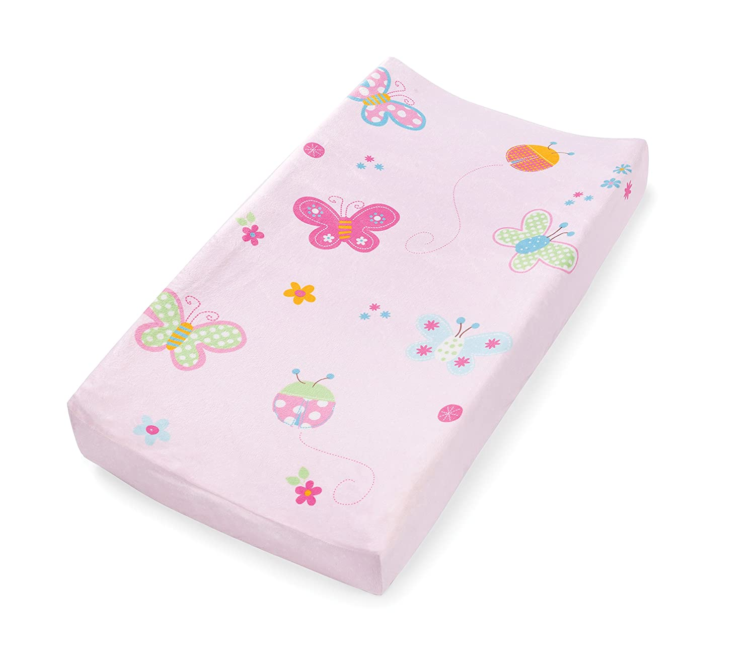 Summer Infant Character Change Pad Cover, Butterfly Ladybug 92480