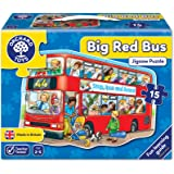 Orchard Toys - Big Bus Shaped Floor Puzzle - 15pcs
