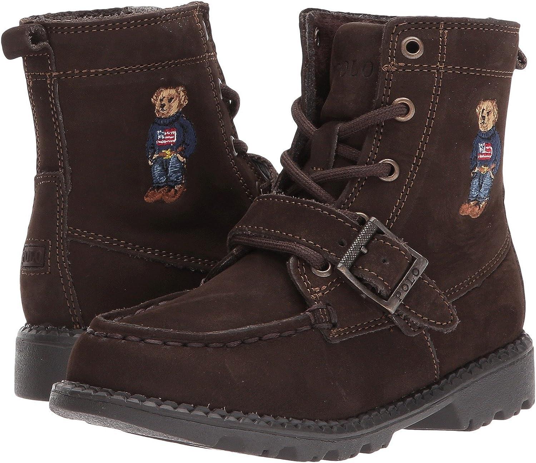 [ポロラルフローレン] キッズブーツ・靴 Ranger Hi II (Toddler) Chocolate Nubuck/Polo Sweater Bear 4.5 Toddler (12.5cm) M [並行輸入品]