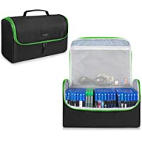 Trunab Game Disc Case Hold Up to 24 Discs, Portable Storage Bag Gaming Disk Organizers, Compatible with Xbox 360/Xbox…
