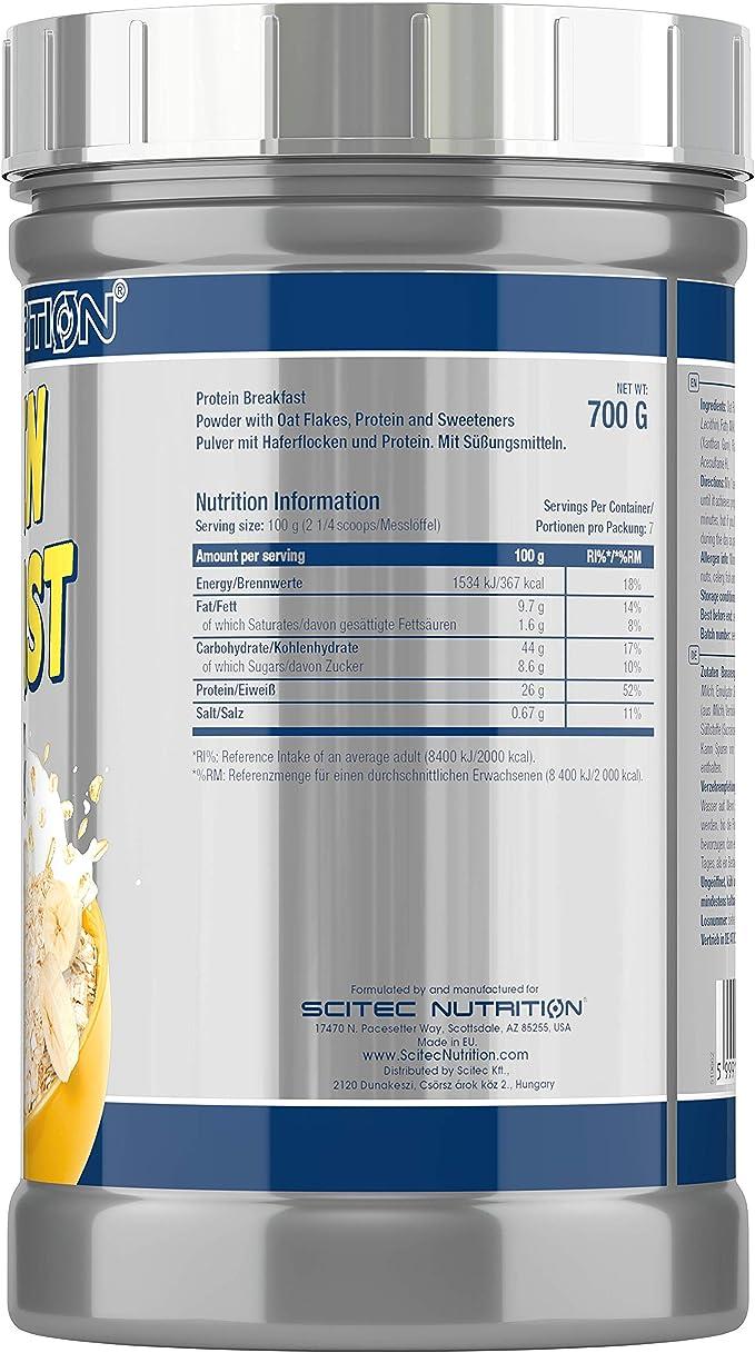 Protein Breakfast 700g banana: Amazon.es: Salud y cuidado ...