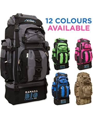 1497913d85112 Andes Ramada 120L Extra Large Hiking Camping Backpack Rucksack Luggage Bag