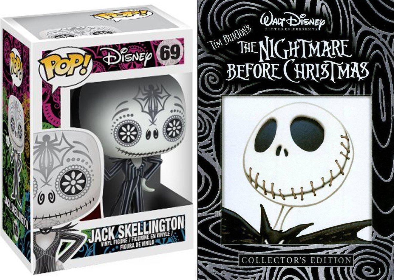 Amazon.com: Day of The Dead Jack Skellington & Tim Burton The ...