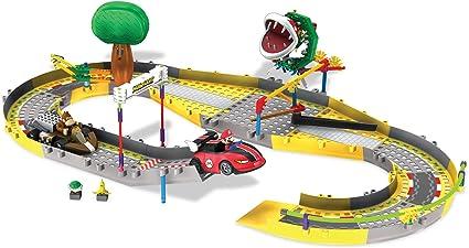 Amazon Com K Nex Mario Kart Wii Mario And Donkey Kong Circuit