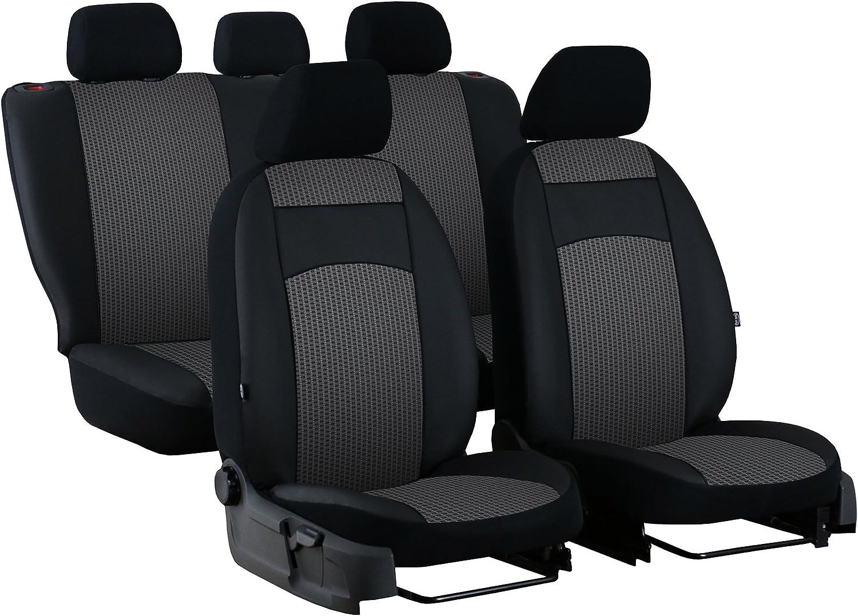 Maßgefertigte Autositzbezüge Für T Roc Ab 2017 Design Royal Stoff Mit Kunstleder In Diesem Angebot Grau 2ex Auto