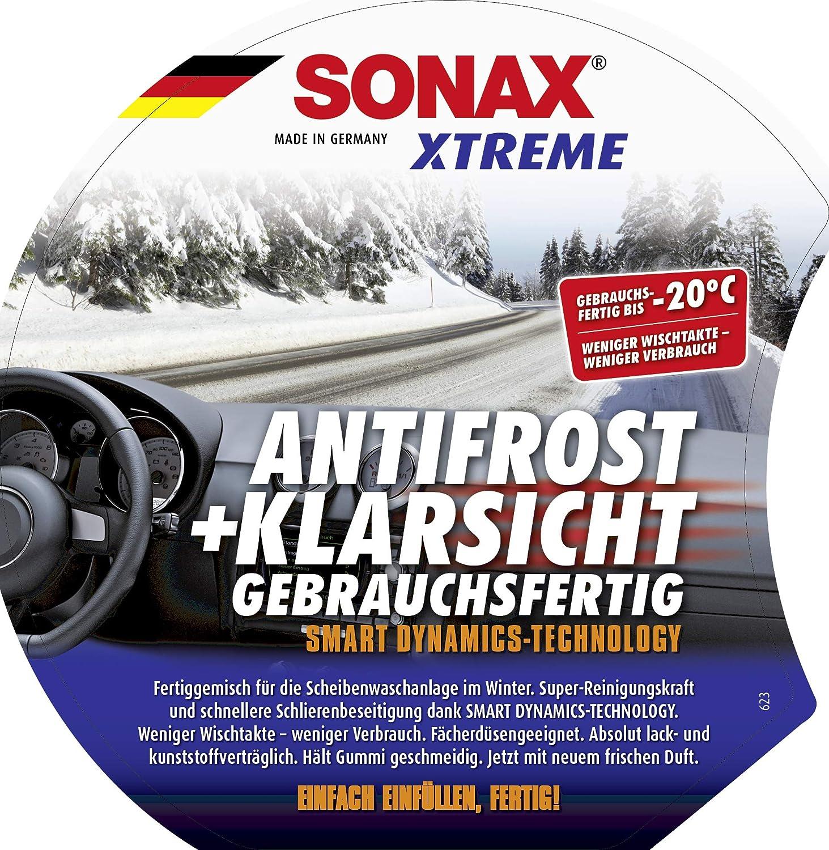 Sonax Xtreme Antifrost Klarsicht Gebrauchsfertig Bis 20 C 3 Liter Schneller Schlierenfreier Und Supereffektiver Scheibenreiniger Für Den Winter Art Nr 02324000 Auto