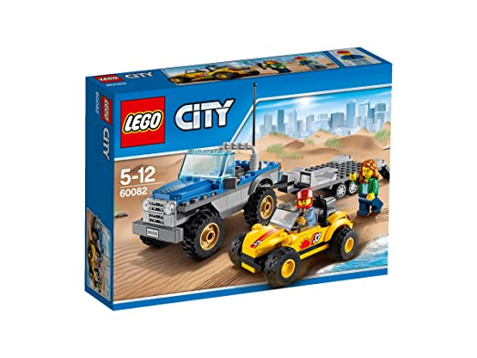 671 opinioni per LEGO City Great Vehicles 60082- Rimorchio Dune Buggy