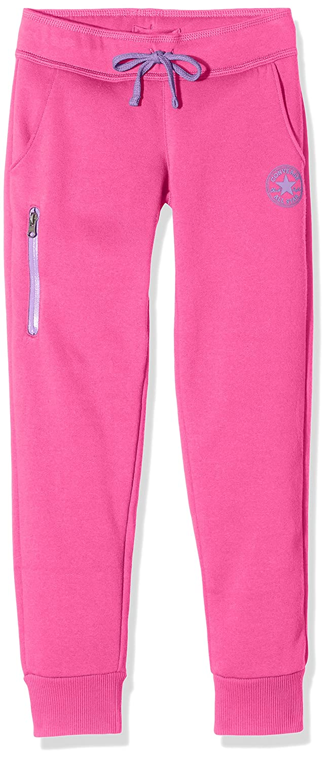 Converse Girl's Core Sports Trousers (Mod Pink) 3-4 Years CNV4885