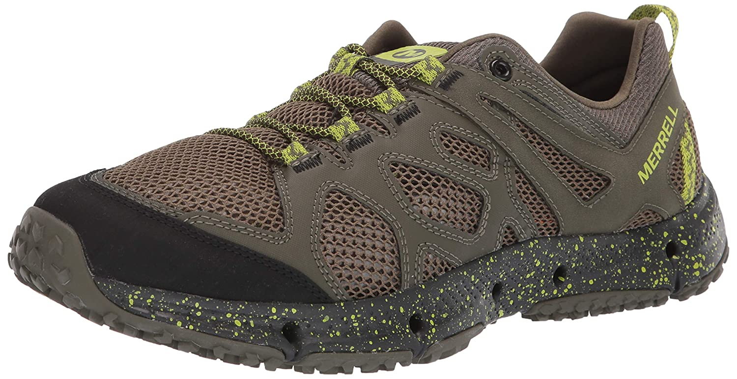 Vert (Dusty Olive Lime Dusty Olive Lime) Merrell Hydrougerekker, Chaussures de Sports Aquatiques Homme 43 EU