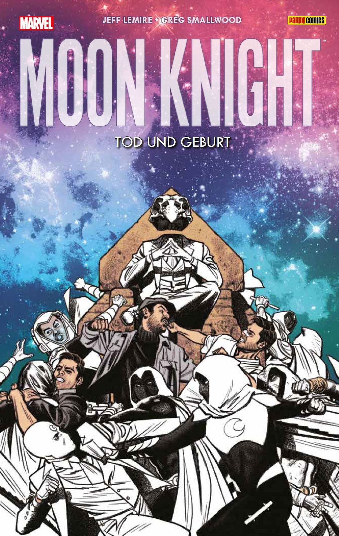 Moon Knight: Bd. 3 (2. Serie): Tod und Geburt Taschenbuch – 9. Januar 2018 Jeff Lemire Greg Smallwood Bernd Kronsbein Panini