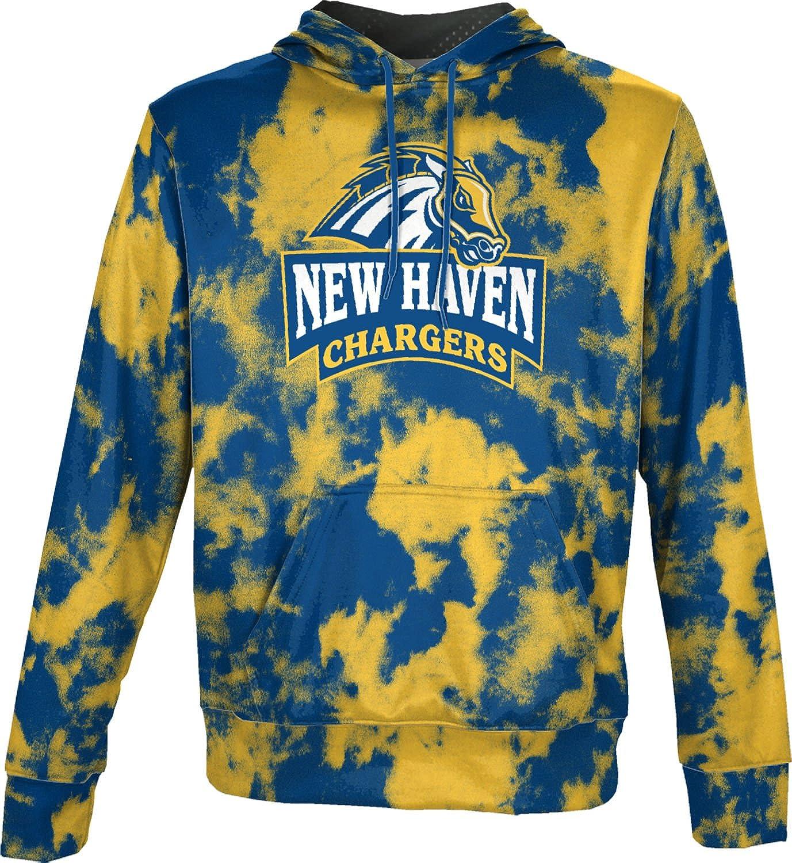 School Spirit Sweatshirt Grunge University of New Haven Mens Pullover Hoodie