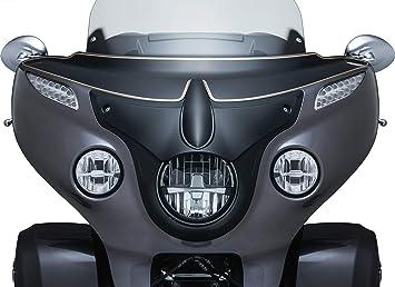 Kuryakyn 5694 Satin Black Motorcycle Accent