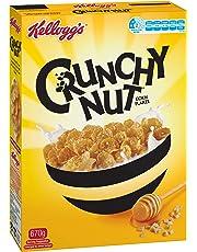 Kellogg's Crunchy Nut Cornflakes, Breakfast Cereal, 670g
