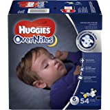 HUGGIES OverNites Diapers, Size 6, 54 ct, GIGA JR Overnight Diapers (Packaging May Vary)