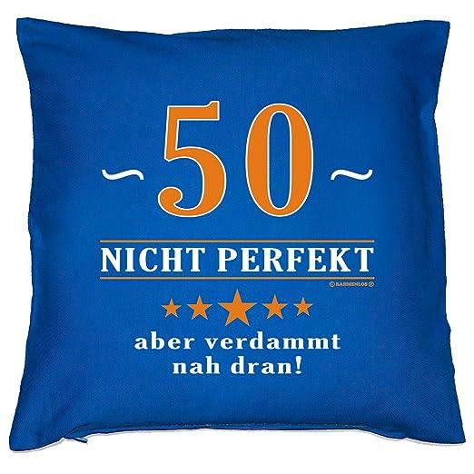 Verve Fun Shirt Cojín con cojín Interior - 50, Cerca. - 50 ...