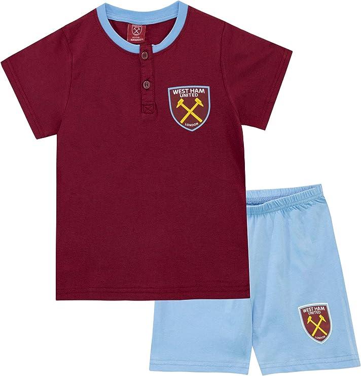 West Ham United FC Pijamas de Manga Corta para niños Football Club ...