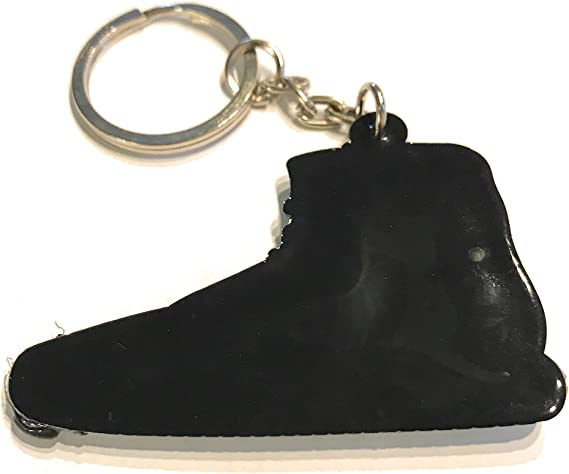 WeTheFounders Black White Hightop Yeezy Shoe Collectable Keychain