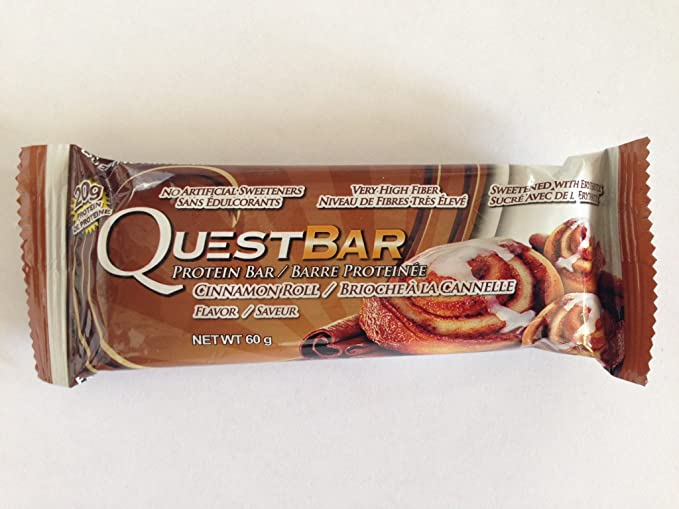 Quest Bar - Cinnamon Roll - 60g