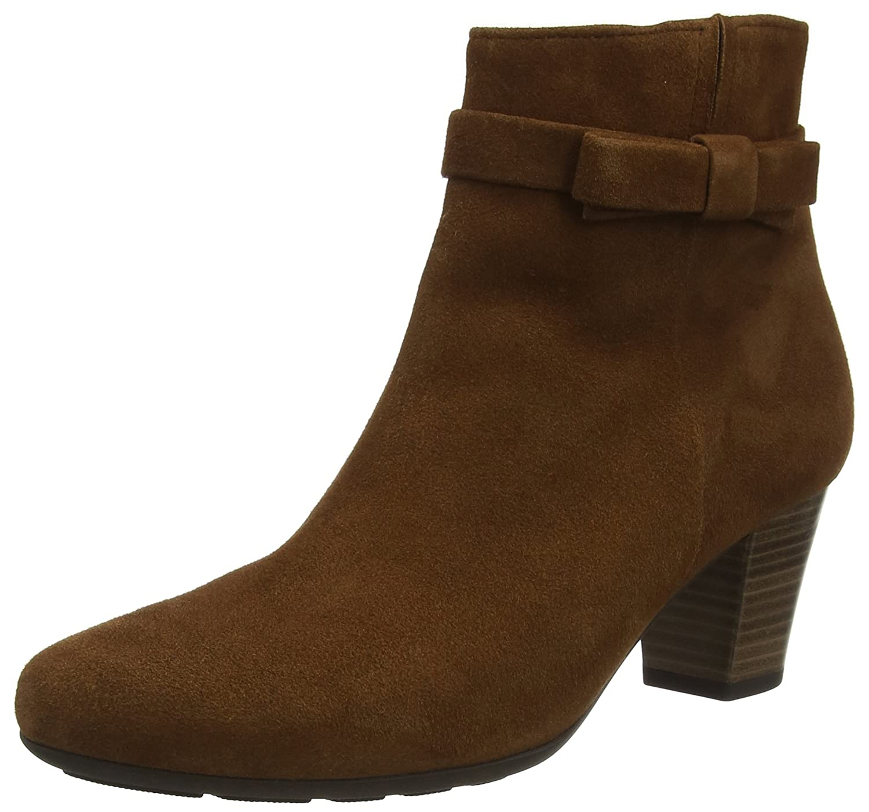 Gabor Shoes Comfort Basic, Botas para Mujer42 EU Marrón (21 New Whisky Micro)