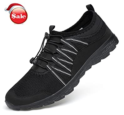 Belilent Men's Athletic Running Shoes - Casual Fitness Shoes Fashion  Sneakers Lightweight Mesh Soft Sole