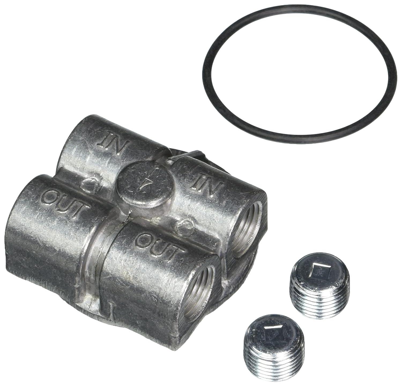 Trans-Dapt 1427 22mm 90 Degree Oil Bypass Trans-Dapt Performance