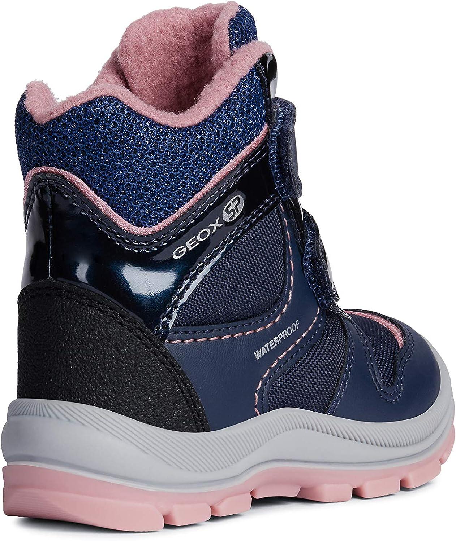 Geox Baby Mädchen Snowboots TRIVOR Girl WPF, Kleinkinder