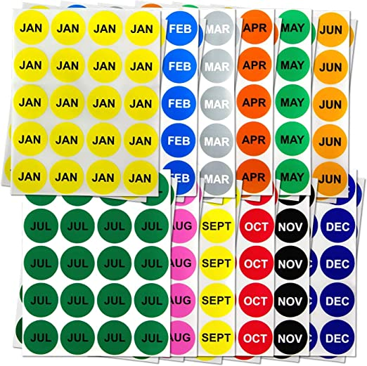Kit stickers circles Scott Choose Colour 12 Piece Neon also