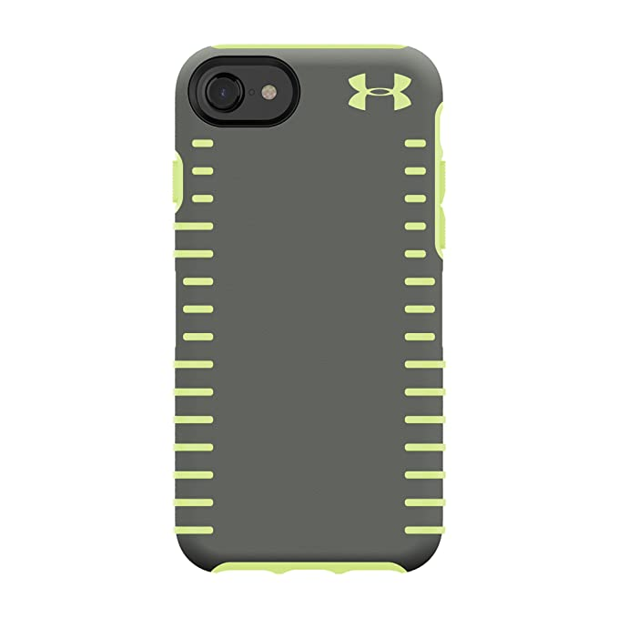 timeless design c98f5 3970d Under Armour UA Protect Grip Case for iPhone 8, iPhone 7, iPhone 6s, iPhone  6 - Graphite/Quirky Lime