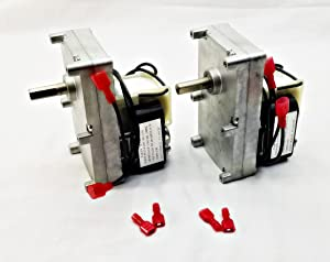 Pellethead 2 Pack for Englander 1RPM Pellet Stove Auger Motor PU-047040 PH-CCW1- Top and Bottom Auger Motor