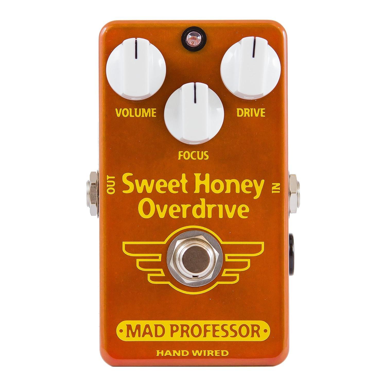 Mad Professor マッドプロフェッサー エフェクター Hand-Wired Series オーバードライブ Sweet Honey Overdrive HW 【国内正規品】   B00AB30FCE